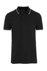 Jockey Polo Shirt kurzarm, Schwarz, ArtikelNr 500703H