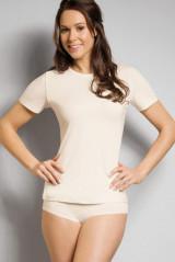 Rieker Shirt kurzarm, Elfenbein, ArtikelNr 114581