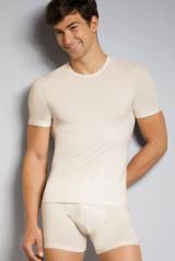 Rieker Shirt kurzarm, Elfenbein, ArtikelNr 114580