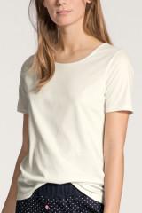 Calida Shirt kurzarm, Weiß, ArtikelNr 14038