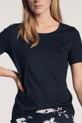 Calida Shirt kurzarm, Blau, ArtikelNr 14038