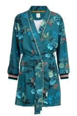 Pip Studio Ninny Leafy Stitch Kimono, Blau, ArtikelNr 51510091-094