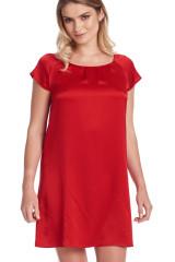 Gattina Nachthemd, kurzarm, Rot, ArtikelNr 381423