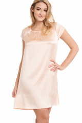 Gattina Nachthemd, kurzarm, Rosa, ArtikelNr 381423