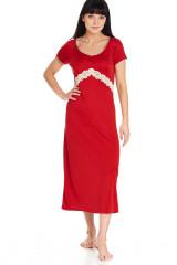 Gattina Nachthemd, lang, Mehrfarbig, ArtikelNr 390326