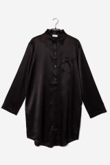 Gattina Boyfriend Sleepshirt, Schwarz, ArtikelNr 381453