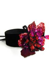 Mondin SEQUIN FLOWER CHOKER - Halsband, Mehrfarbig, ArtikelNr m019