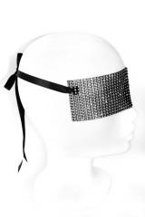 Mondin CRYSTAL MASK - Gittermaske, Schwarz, ArtikelNr m025