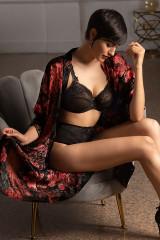 Lise Charmel Kimono, Schwarz, ArtikelNr ALG2050