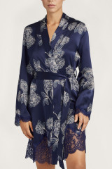 Aubade Kimono, Blau, ArtikelNr QS65-1