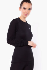 Odlo Shirt langarm, warm Eco, Schwarz, ArtikelNr 159101