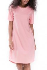 Mey Damenwäsche Nachthemd kurzarm, Rosa, ArtikelNr 16450