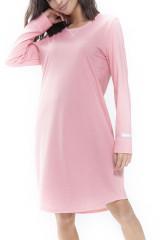 Mey Damenwäsche Nachthemd langarm, Rosa, ArtikelNr 16490