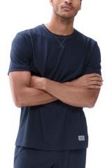Mey Herrenwäsche T-Shirt, Blau, ArtikelNr 66630