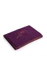 David Fussenegger Wohndecke SYLT Zweig violett, Violett, ArtikelNr 44874040