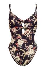 Watercult Badeanzug mit Doppelschleife, Mehrfarbig, ArtikelNr 8131157