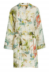 Pip Studio Ninny Palm Scenes Kimono, Weiß, ArtikelNr 51510145-149