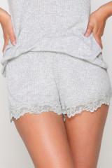 LingaDore Pyjamashort, Grau, ArtikelNr 6415
