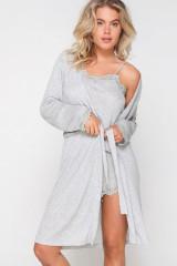 LingaDore Kimono, Grau, ArtikelNr 6412