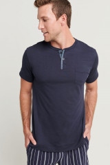 Jockey T-Shirt, Blau, ArtikelNr 500729H