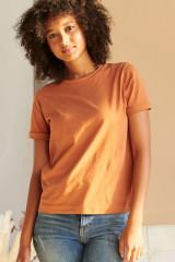 Jockey T-Shirt Organic Cotton, Braun, ArtikelNr 8501001H