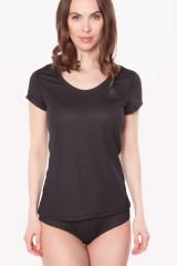 Odlo Shirt kurzarm, light Eco, Schwarz, ArtikelNr 141161