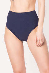 Watercult High-Waist Bikini-Slip, Blau, ArtikelNr 611155