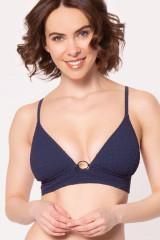 Watercult Triangel-Bikini-Oberteil, Blau, ArtikelNr 7032155
