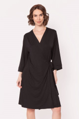 Antigel Kimono, Schwarz, ArtikelNr ENA7806