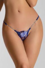 Lucky Cheeks Blue Lagoon Luxury String, Blau, ArtikelNr LC276BLL