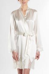 Aubade Kimono uni, Weiß, ArtikelNr QS65