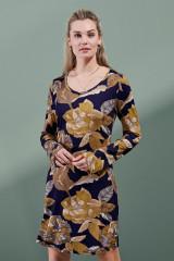 ESSENZA Elm Gwyneth Nightdress Long Sleeve, Mehrfarbig, ArtikelNr 401709-328