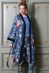Pip Studio Naomi Flower Festival Kimono, Blau, ArtikelNr 51510192-197
