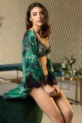 Lise Charmel Kimono kurz, Grün, ArtikelNr ALC2288