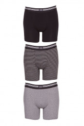 JockeyCotton Stretch - MehrpackBoxer Trunk, 3er-Pack