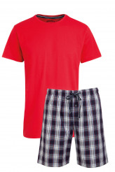 Jockey Nightwear Pyjama kurz a-red