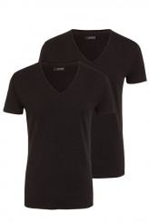 Jockey Cotton+ 2500 V-Shirt, 2er-Pack