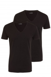 Jockey Cotton+ V-Shirt, 2er-Pack
