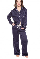 Bluebella Nightwear by Bluebella Shirt and Trouser Set Claudia