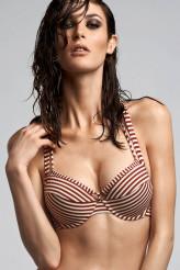 Marlies DekkersHoli Vintage red ecruPush-Up-Bikini-Oberteil