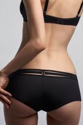 Marlies DekkersSpace Odyssey blackBrazilian Shorts - 12 cm