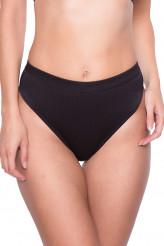 WatercultUrban RibHigh-Waist Bikini-Slip mit Zipper