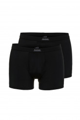 Bruno Banani Check Line Short, 2er-Pack Simply Micro