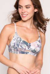 Watercult Urban Jungle Bikini-Oberteil, Cut-Out