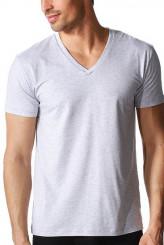 Mey HerrenwäscheDry CottonShirt, V-Ausschnitt COLOUR