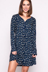 ESSENZA Nightwear 2018 Acacia Animal Nightdress long sleeve