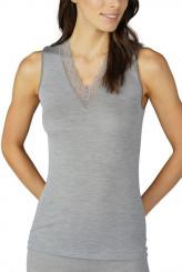 Mey DamenwäscheSerie Silk Touch WoolTop, breite Träger