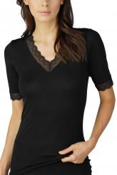 Mey DamenwäscheSerie Silk Touch WoolShirt, kurzarm