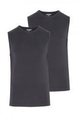 Jockey Microfiber Air Athletic-Shirt, 2er-Pack