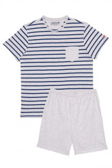 Jockey Nightwear Cotton Pyjama kurz Nautical Stripe